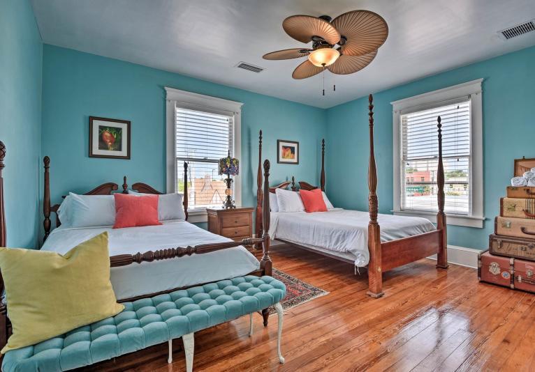 Bedroom - Blue