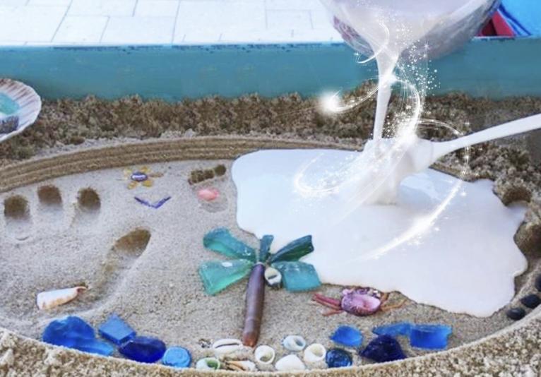 Magic Milk Island Art