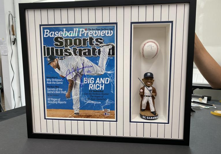 We Frame Sports Memorabilia