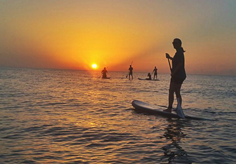 Blue Coast ocean paddle