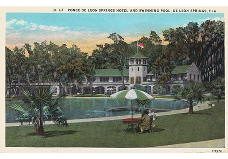 Echo Gallery DeLeon Springs Postcard