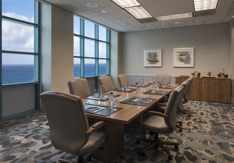 Hilton Daytona Boardroom