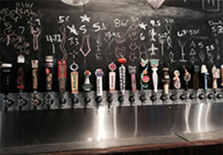 Daytona Taproom bar
