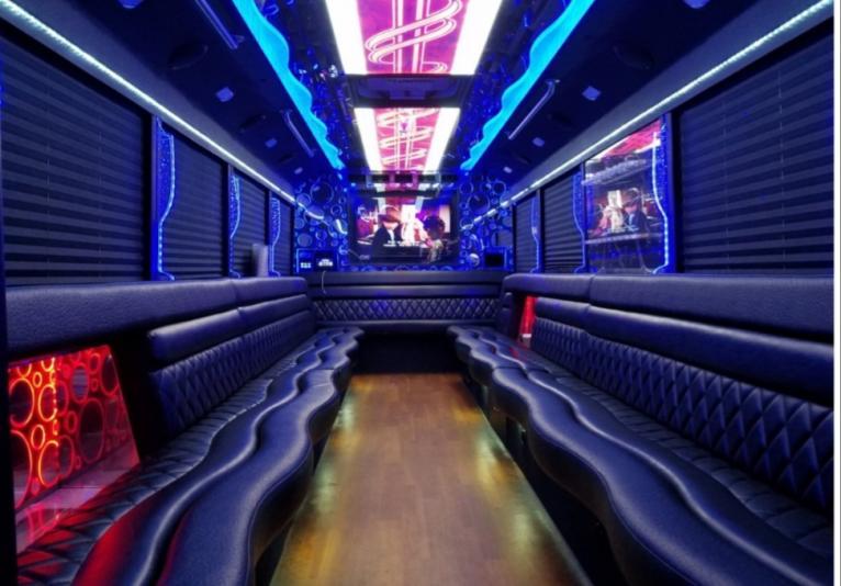 Limousine/Party Bus interior