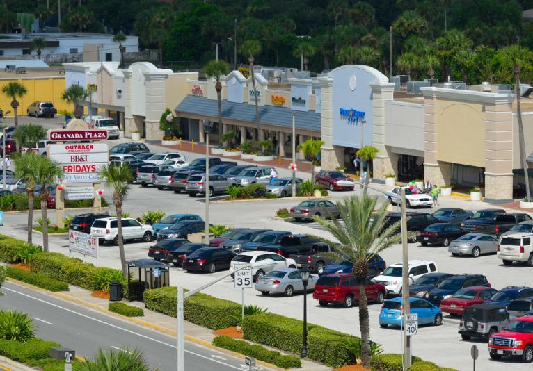 Granada Plaza Shopping Center Aerial