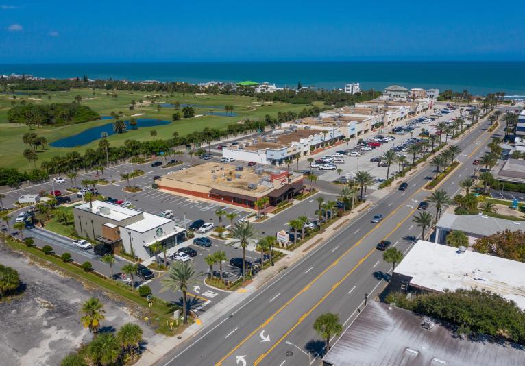 Granada Plaza Shopping Center Aerial 2