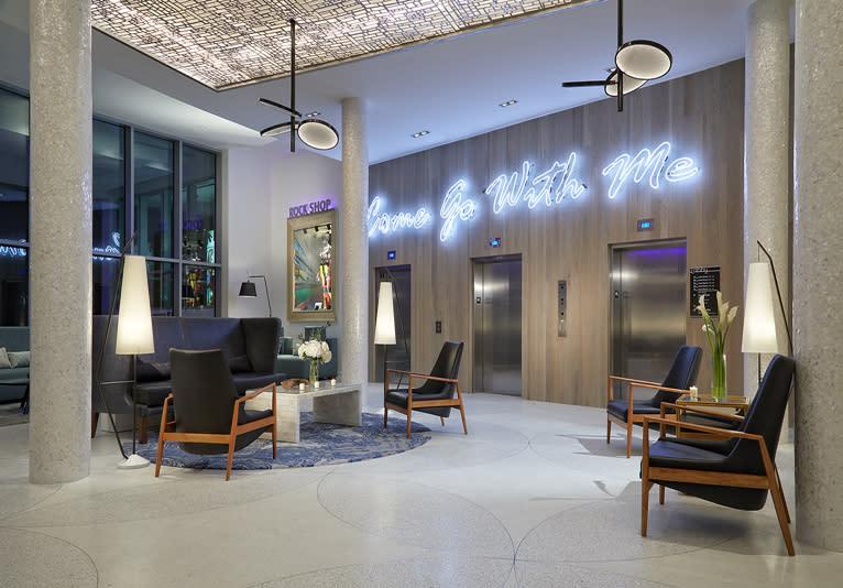 Hard Rock lobby