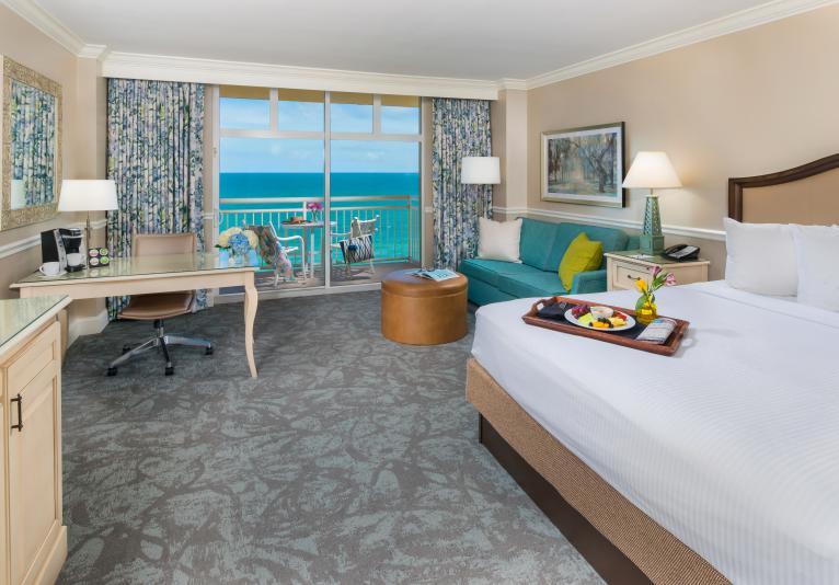 Oceanfront King Balcony Guest Room