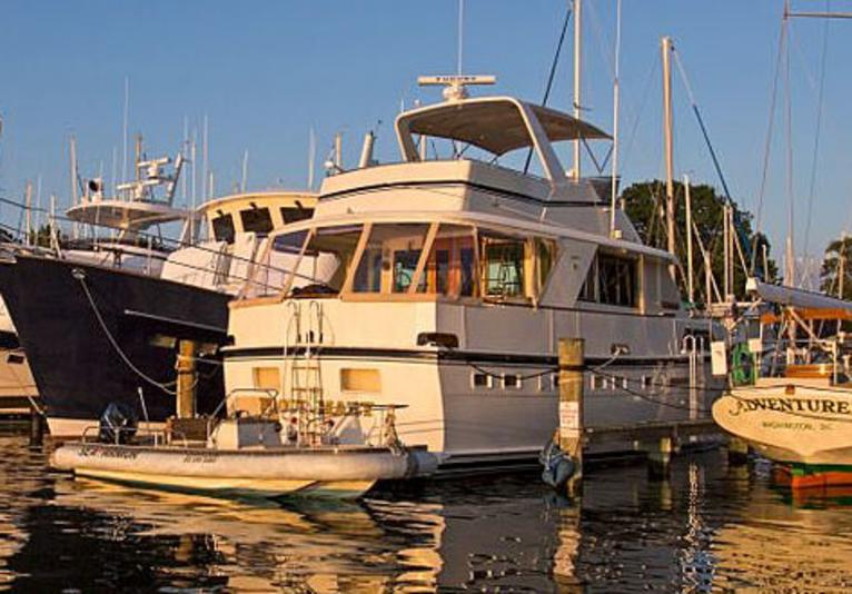 Marker 57 at Cameron's Marina