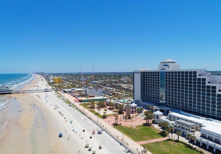 Hilton Daytona Beach Aerial View