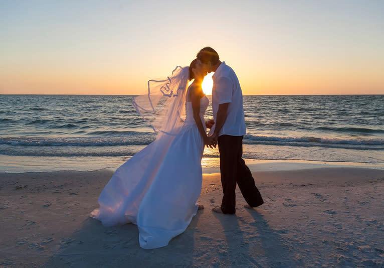 My Wedding on the Beach 1