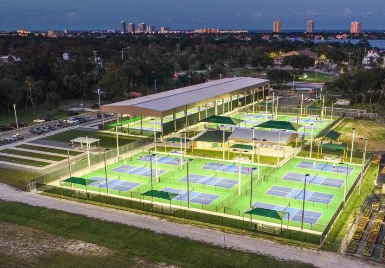 Pictona Pickleball Complex in Holly Hill