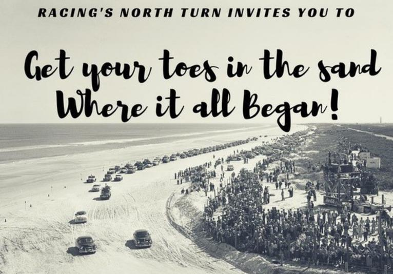 Racing's North Turn Toes In The Sand