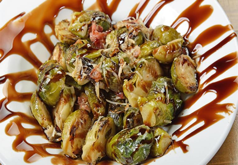 River Grille on the Tomoka Bacon Brussels Sprouts Appetizer