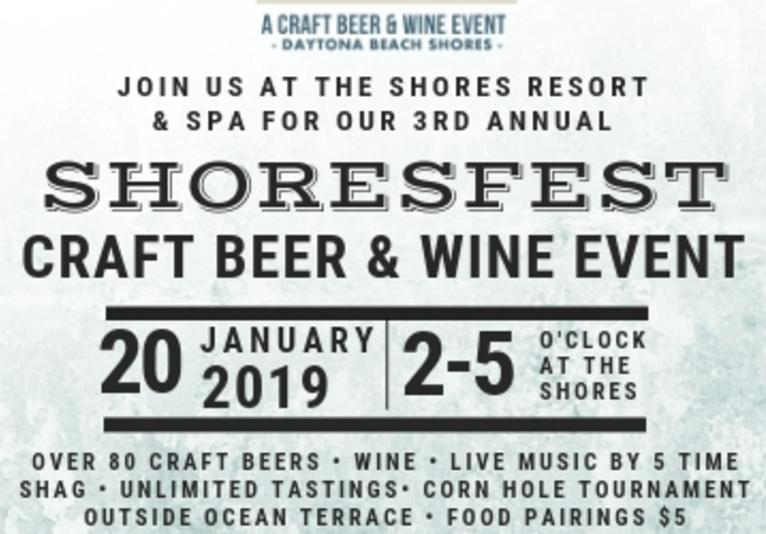 Shoresfest Craft Beer & Wine Event