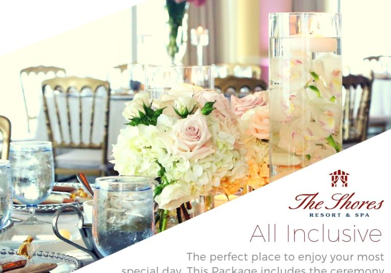A Spring Wedding Package That's So Cool!