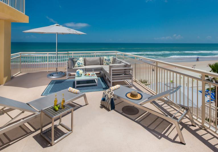 Oceanfront Terrace Guest Room