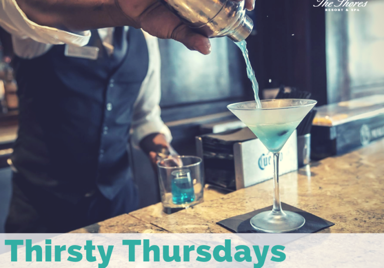 Thirsty Thursdays At Oceanview Lounge