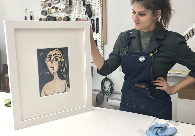 Picasso Framing