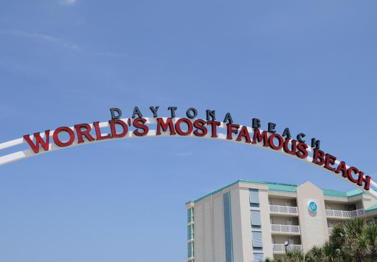 World's Most Famous Beach Sign
