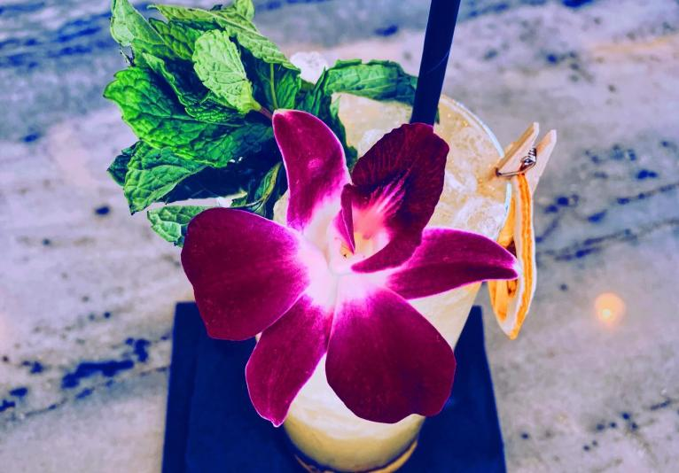 flowery drink
