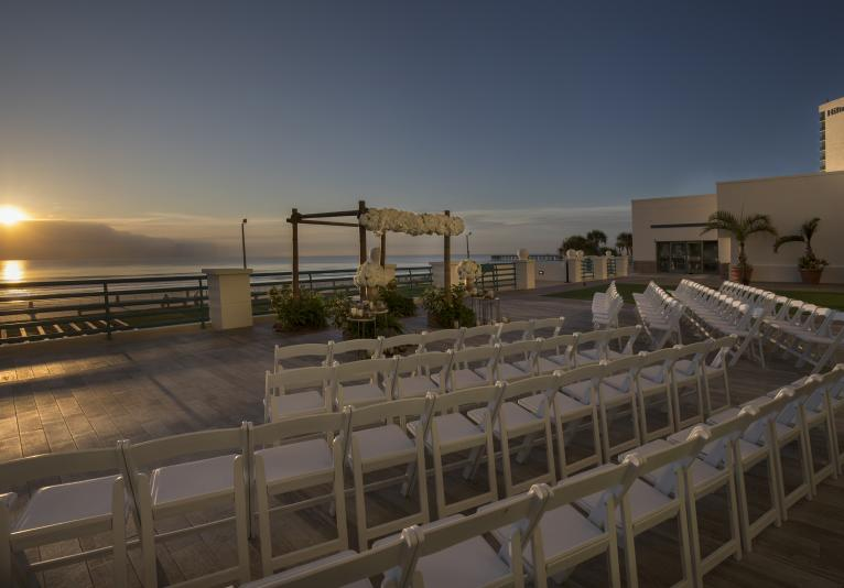 Outside Oceanfront Ceremony