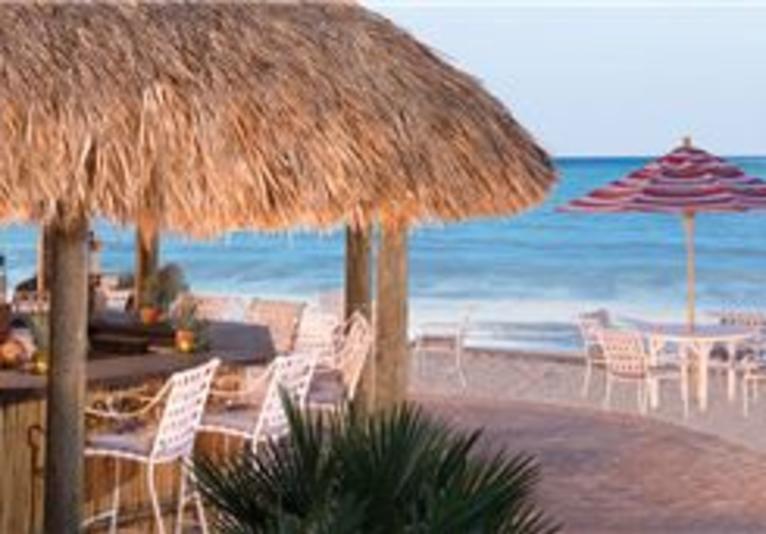 Tiki Hut Barefoot Beach Bar