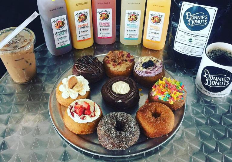 donuts and drinks