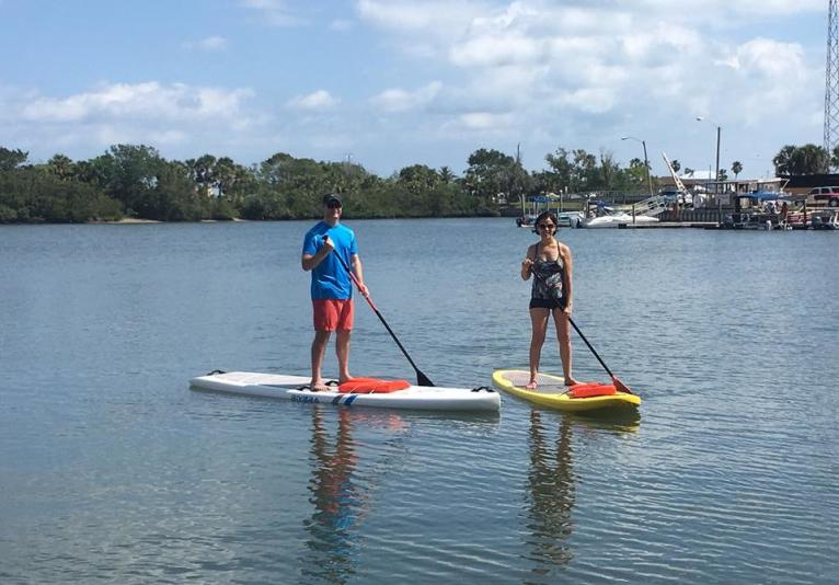 Paddleboard New Smyrna Beach