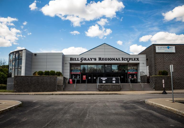 Exterior of Bill Gray's Regional Iceplex