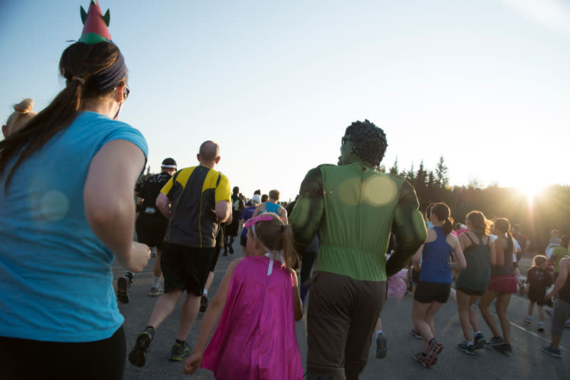 Midnight Sun Run - Fairbanks Alaska