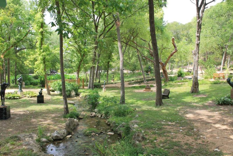 Garden. Courtesy of UMLAUF Sculpture Garden & Museum.