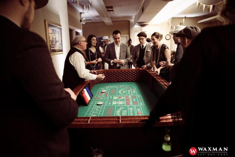 Casino at Pop-up Speakeasy