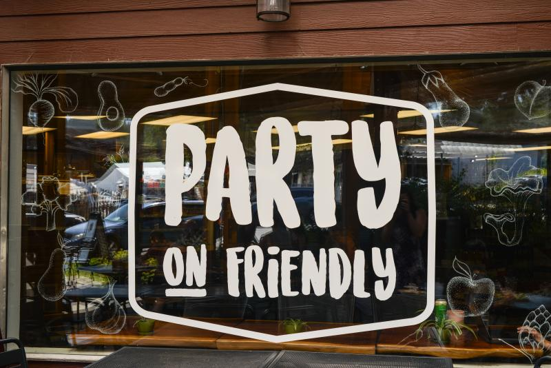Party on Friendly by Melanie Griffin