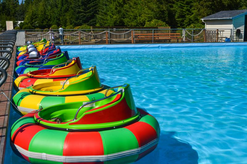 Sandland Adventures bumper boats by Melanie Griffin