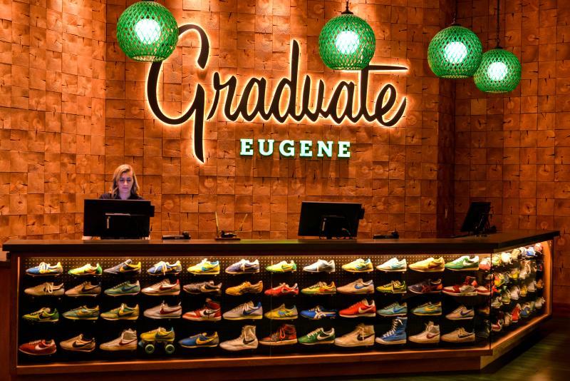 Graduate Eugene Hotel by Melanie Griffin