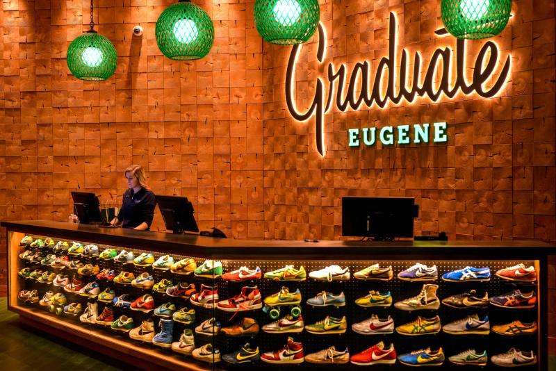 Graduate Eugene Hotel Lobby by Melanie Griffin