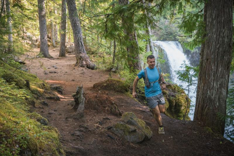 McKenzie River Trail run by Michael Sherman