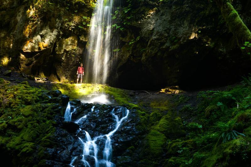 Upper Trestle Creek Falls, Cottage Grove by Melanie Griffin