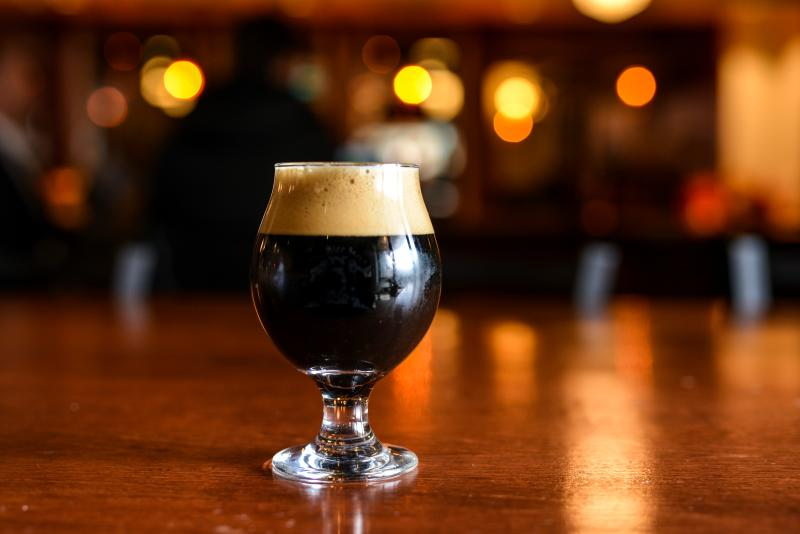 Oakshire's Big Black Jack Pumpkin Stout by Melanie Griffin