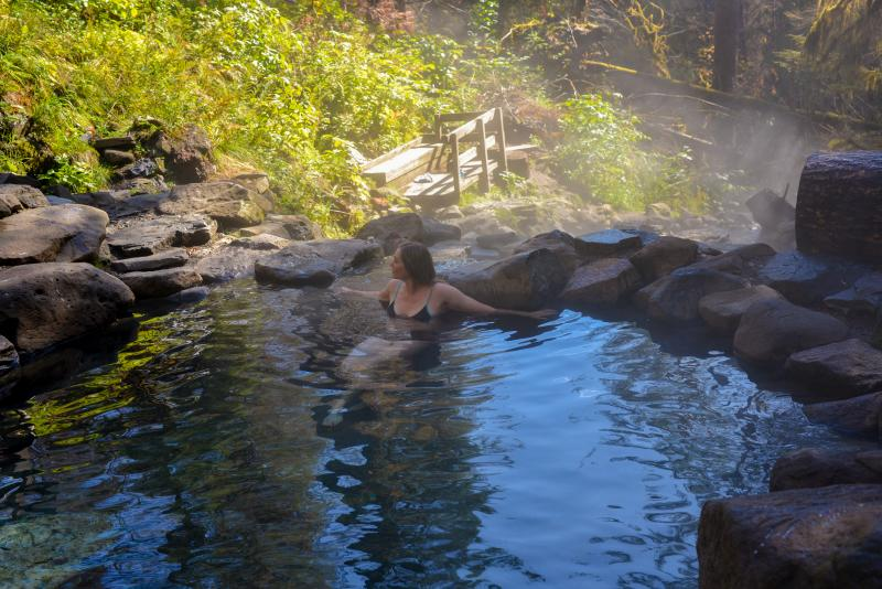 Terwilliger Hot Springs by Melanie Griffin