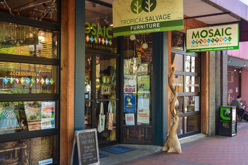 Mosaic Fair Trade Store by Melanie Griffin