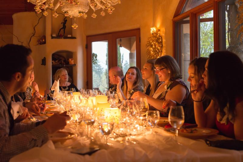 Winemaker's Villa Dinner Pfeiffer Winery