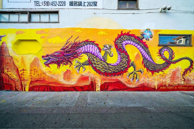 Dragon School Mural Photo