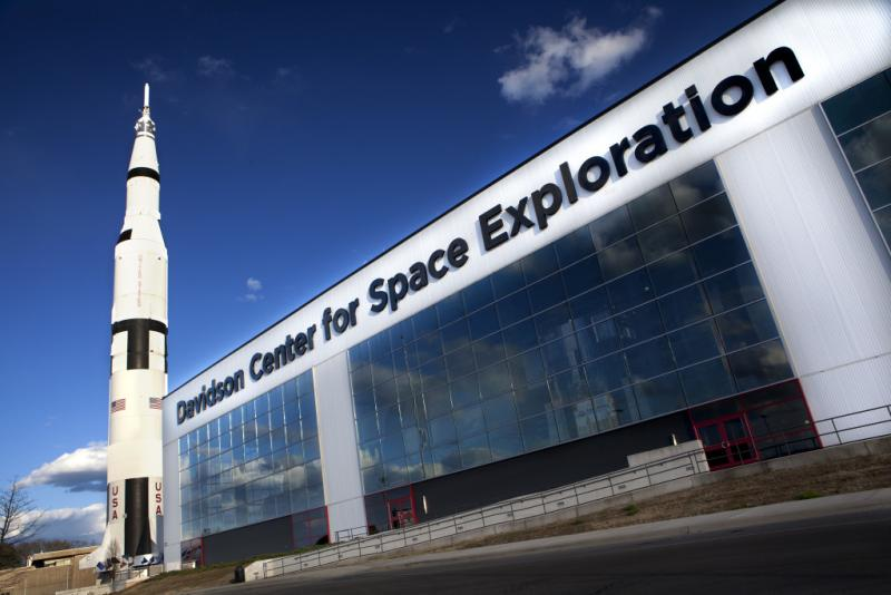Davidson Center at the U.S. Space & Rocket Center in Huntsville, Alabama
