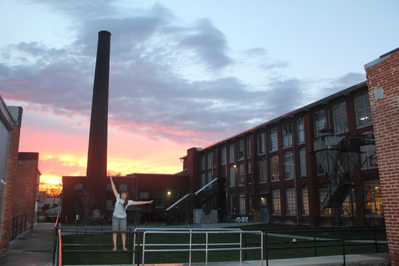 Smokestack at Lowe Mill ARTS & Entertainment in Huntsville, AL