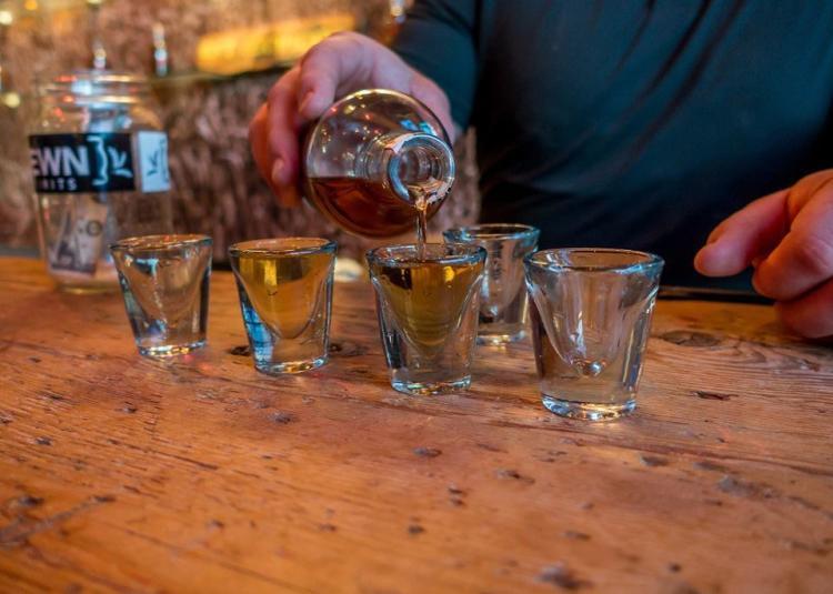 Hewn Spirits Tasting Room