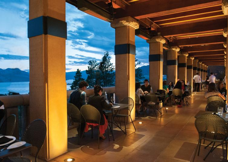 Terrace Restaurant at Mission Hill Winery