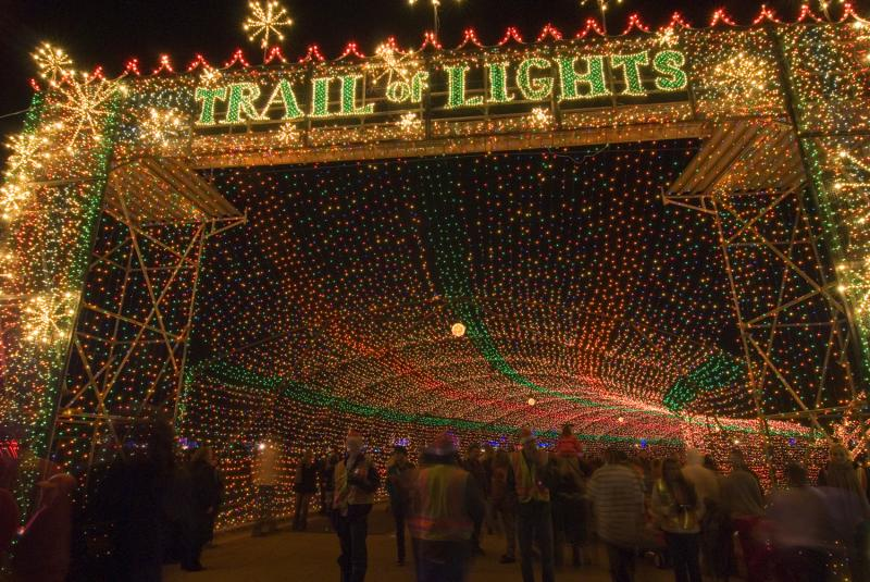 Trail of Lights entrance