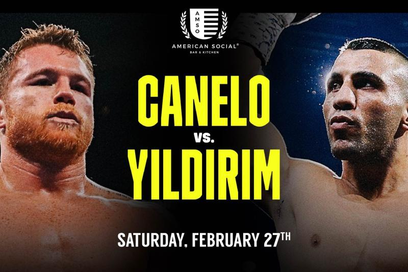 Fight Night - Canelo vs Yildirim